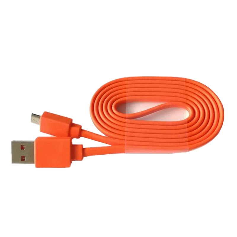 Replacement 1M USB Charger power Charging Data Cord Cable for -JBL Flip 3 4 Pulse 2 Bluetooth Speaker Orange Practical