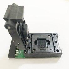 Prise de test emcp au port universel 20 broches pour emcp 221 NAND taille de lecteur de test flash 11.5*13mm pour la récupération de données