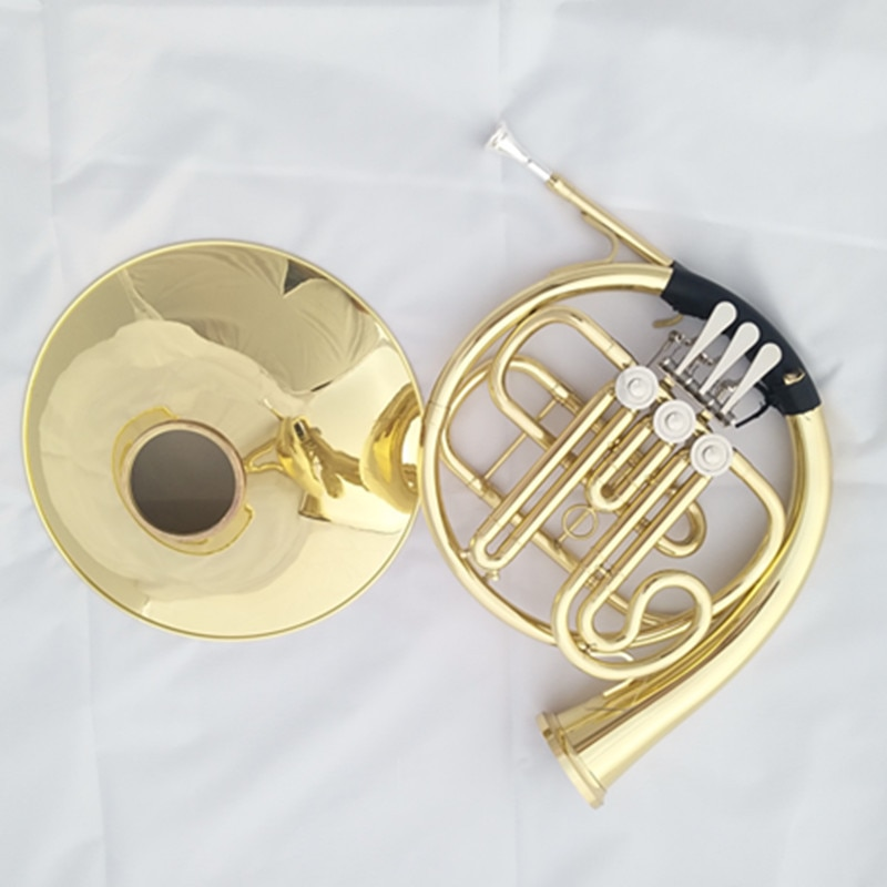Custom Letter Three-Button Single- Row Horn Instrument B Flat Playing Effortless Students Beginner Profession Band Playing enlarge