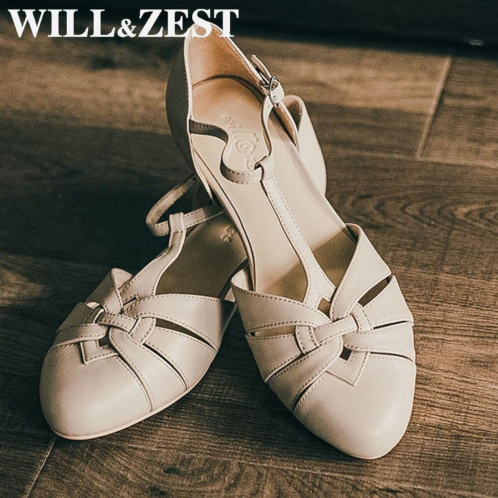 سوف & تلذذ صنادل النساء 2020 الصيف شقة ماري جين الفتيات اليدوية كبيرة الكلاسيكية الكعوب أحذية للرقص القطب الخراف تأثيري لولي