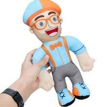 10pcs/lot Anime Blippi Plush Doll Soft Stuffed Toy Cuddle Buddy For Baby Gift Educational Toy