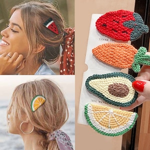 BB Clips Ins Headband Fruit Hairpin For Baby Girls Lovely Strawberry Hair Clip Kids Children Barrette 2020 Hair Accessories