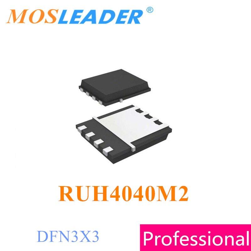 Mosleader RUH4040M2 DFN3X3 100 قطعة 500 قطعة 1000 قطعة RUH4040 N-قناة 40V 40A الصينية عالية الجودة Mosfets