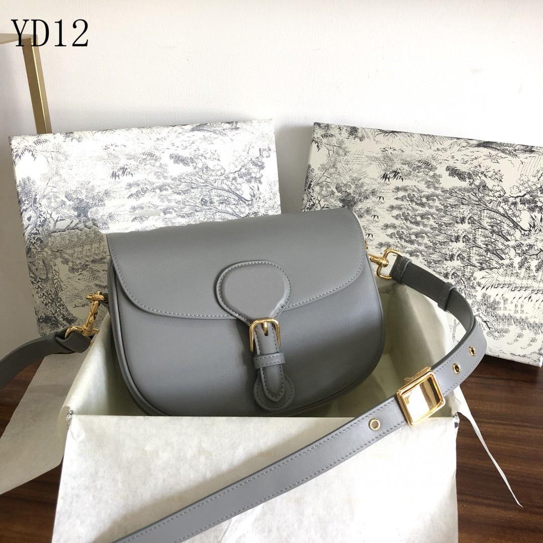 الإكسسوارات الفاخرة السرج Montaigne السيدات حقيبة كتف مصمم 100% حقيبة ساعي جلدية حقيبة يد عشاء حقيبة مستحضرات التجميل