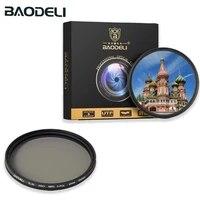 BAODELI Polarized Cpl Filter 37 46 49 52 55 58 67 72 77 82 Mm Polarizer For Camera Canon Lens M50 6d 600d Nikon D3200 Sony A6000