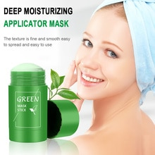 Poreless Deep Cleanse Mask Stick Green Tea Cleansing Facial Mask Stick Oil Control Acne Cleansing Fa