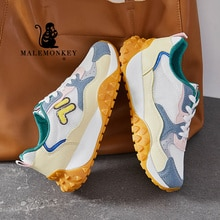 Casual Shoes women Platform Breathable 2021 Autumn Fashion Outdoor Non Slip Running Sneakers Female