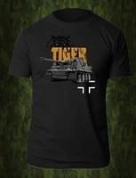 wehrmacht panzer armoured division bundeswehr tiger vi tank t shirt summer cotton short sleeve o neck mens t shirt new s 3xl