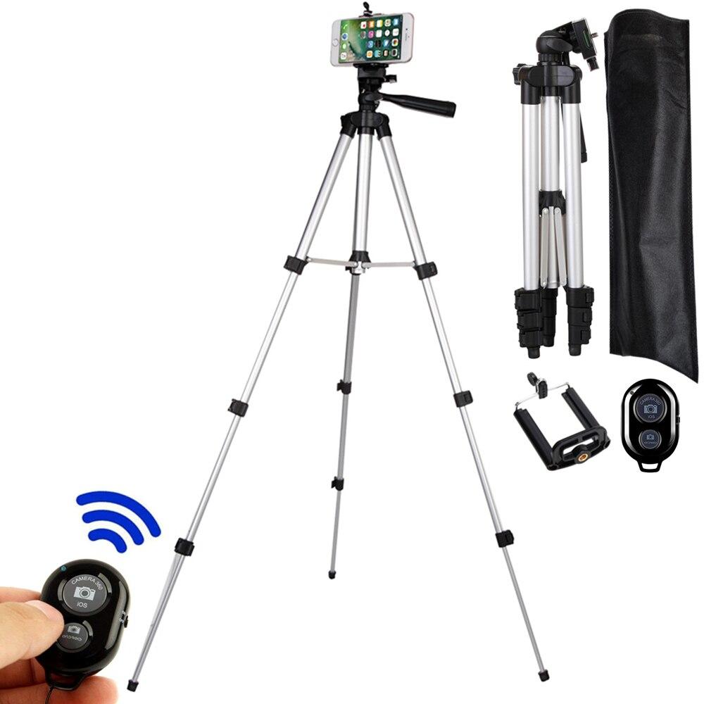 للهاتف حامل كاميرا كام مع موبايل جبل ملحق monopod tripe كليب تمديد حامل كاميرا ترايبود مع البعيد