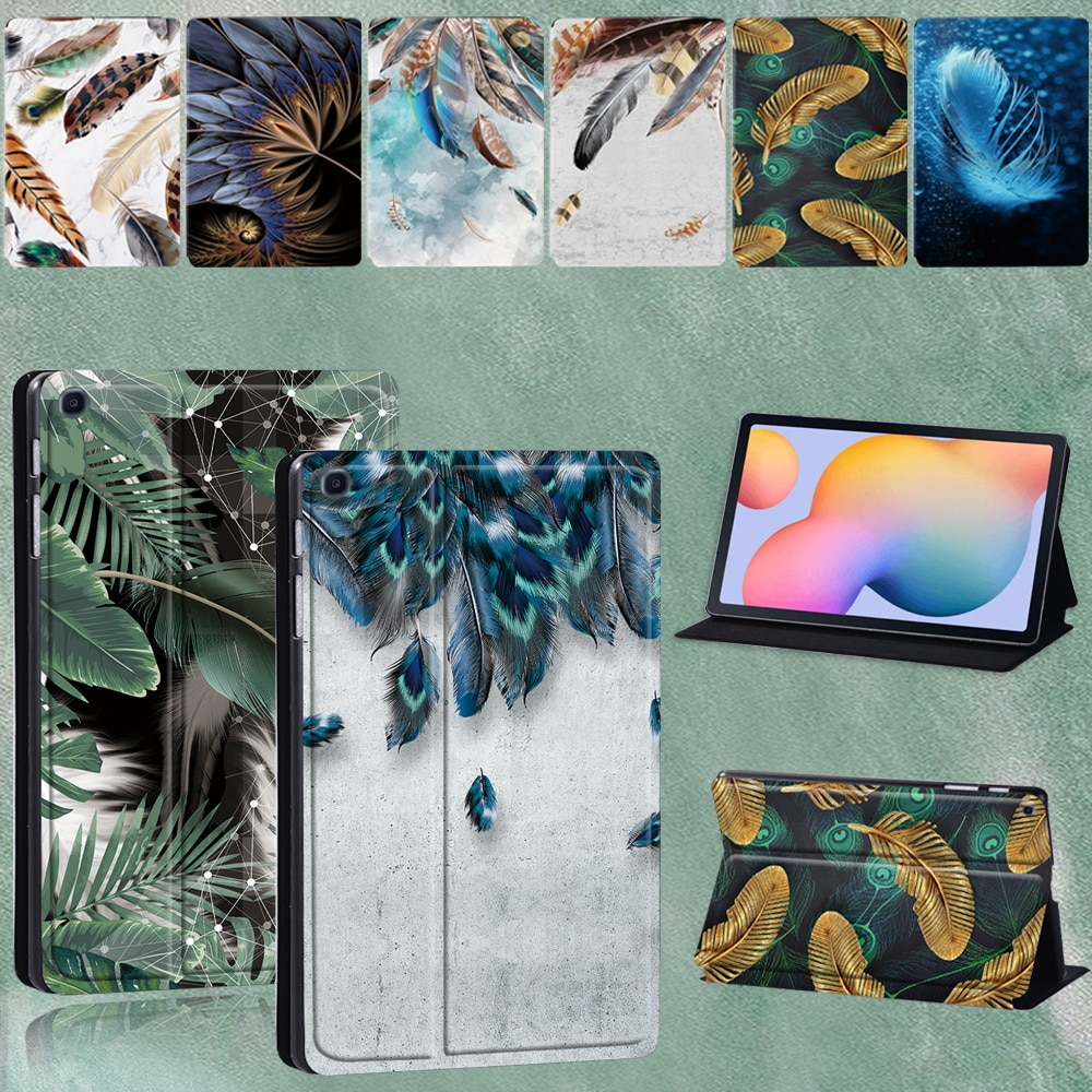 For Samsung Galaxy Tab S6 Lite 2020 Folio Absorption Anti-fall Case for Galaxy Tab S6 Lite 10.4 Inch P610 P615 Tablet Case