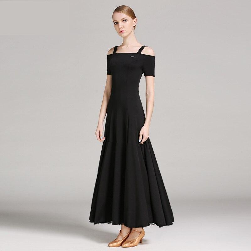المرأة قاعة الرقص المنافسة فستان المرأة الفالس فستان قياسي الحديثة الرقص أزياء مسرحية