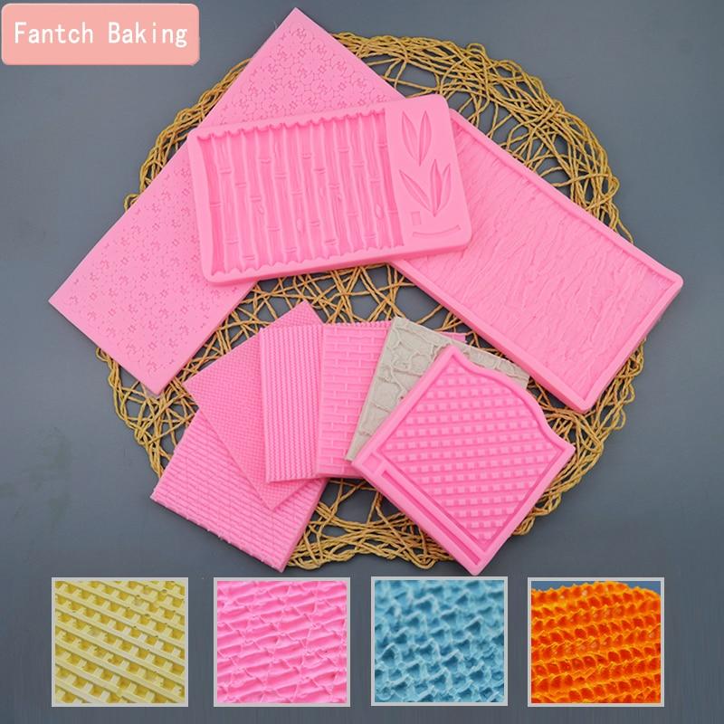 Suéter de punto de tela, cortador de galletas de encaje de lana para pared, tapete de azúcar en relieve para decoración de tartas, herramienta para hornear