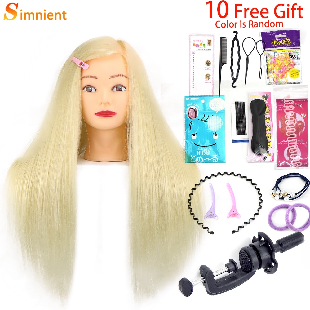 65cm 85%Real Hair Training Head Straight Professional with Stand Cosmetology Doll Head for Styling Curl Practice Mannequin Head head head supershape i rally sw mfpr prd 12 gw brake 85 [f] 18 19 размер 177