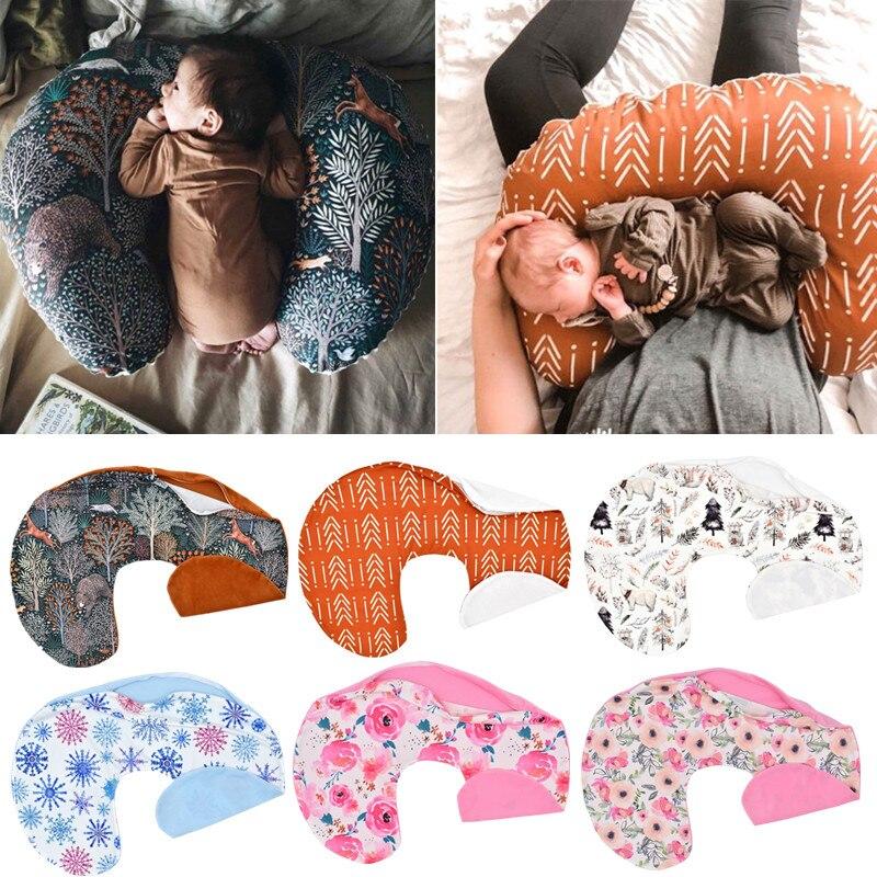 U-образный чехол для подушки для грудного вскармливания, наволочка для подушки для новорожденных, наволочка для кормления грудью, наволочка...