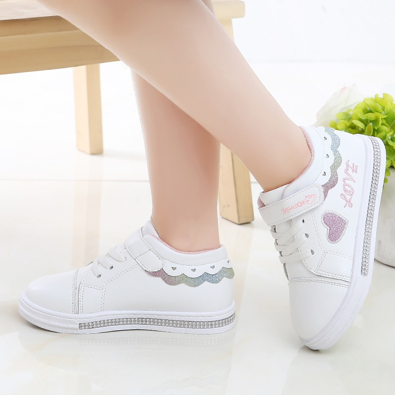 Girls Shoes 2021 Spring And Autumn New Boys Leisure Little Middle School Childrens Sports TX14