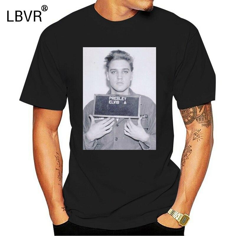 Elvis Aaron Presley Fahndungsfoto König Von Rock 80 Gefängnis Männer Frauen Unisex T-Shirt 20 Plus Größe T-shirt