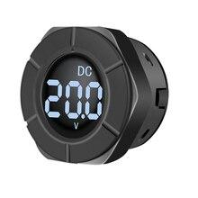 Peacefair Neue Ankunft DC Digital Voltmeter Runde LCD Display 0-300V Auto Spannung Monitor Volt Panel Meter PZEM-019V