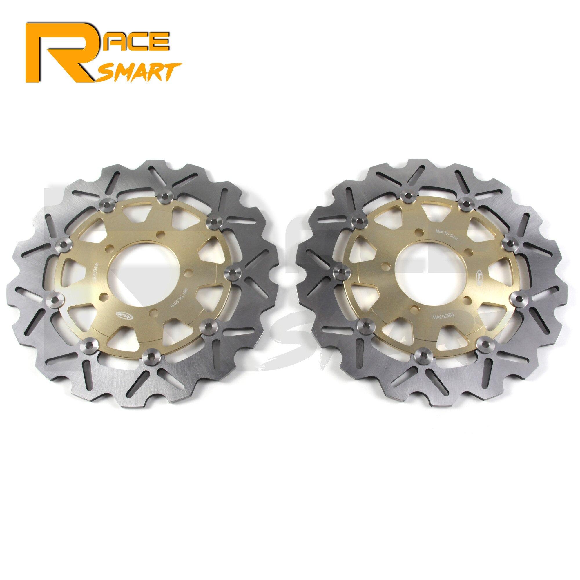 Discos de freno delantero CNC para motocicleta, Rotor de freno de acero inoxidable para KAWASAKI Z 1000-SX ABS 2011 - 2015 Z1000 Z1000 ABS 07- 13