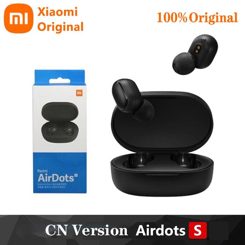 Xiaomi-auriculares inalámbricos Redmi Airdots S con Bluetooth 5,0, dispositivo de audio TWS,...