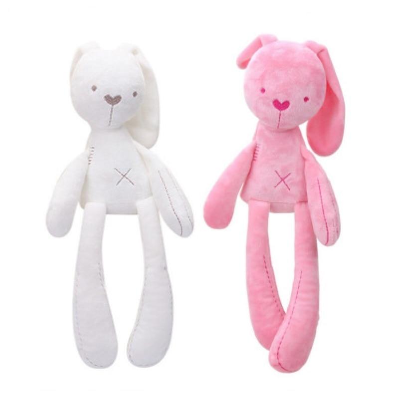 25cm colorful alpaca plush doll baby cute animal doll soft cotton stuffed doll home soft toys sleeping mate stuffed plush toys NEW Cute Rabbit Doll Baby Soft Plush Toys For Children Bunny Sleeping Mate Stuffed &Plush Animal Baby Toys For Infants