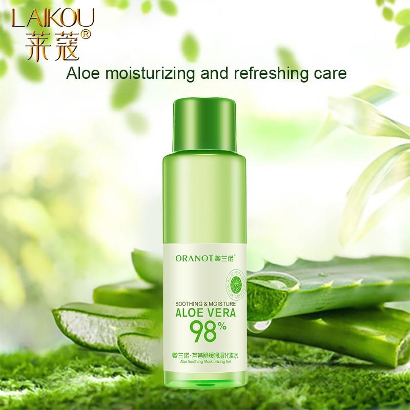 LAIKOU tónico Facial de Aloe, tónico hidratante Facial, productos para el cuidado de la piel, minimizador de poros, Control de aceite, maquillaje, agua, tónico Facial, cuidado de la piel