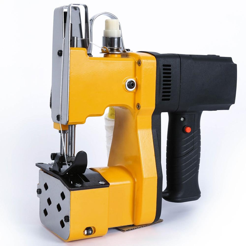Портативная швейная машина, электрическая машина для запечатывания, ручная Экспресс-машина для запечатывания и упаковки тканых пакетов