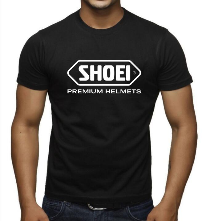 2019 Летняя мужская футболка на шлем SHOEI, футболка с коротким рукавом, Повседневная футболка Suzuki akrapovic