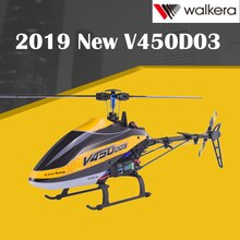 2019 New Walkera V450D03 6CH 3D Fly 6-Axis Stabilization System Single Blade Professional Remote Con