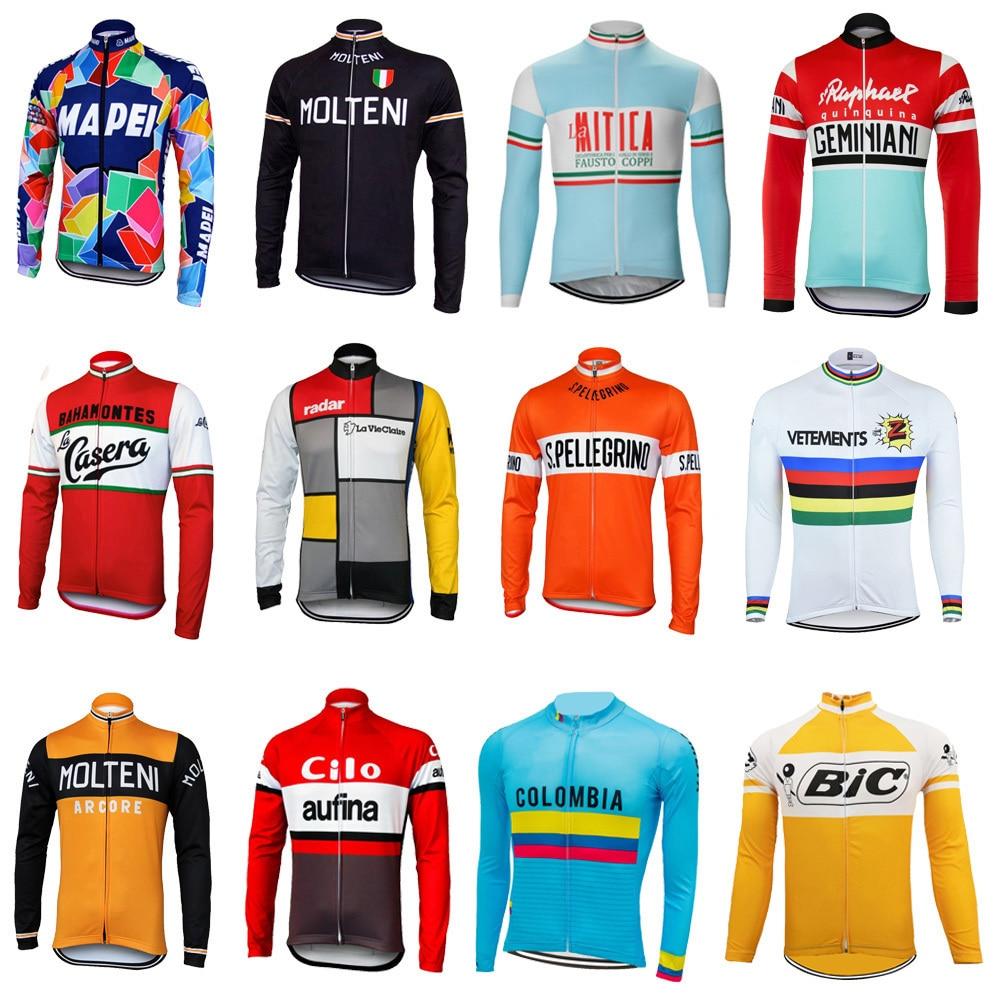 Maillot de manga larga para ciclismo de montaña para hombre, ropa fina...
