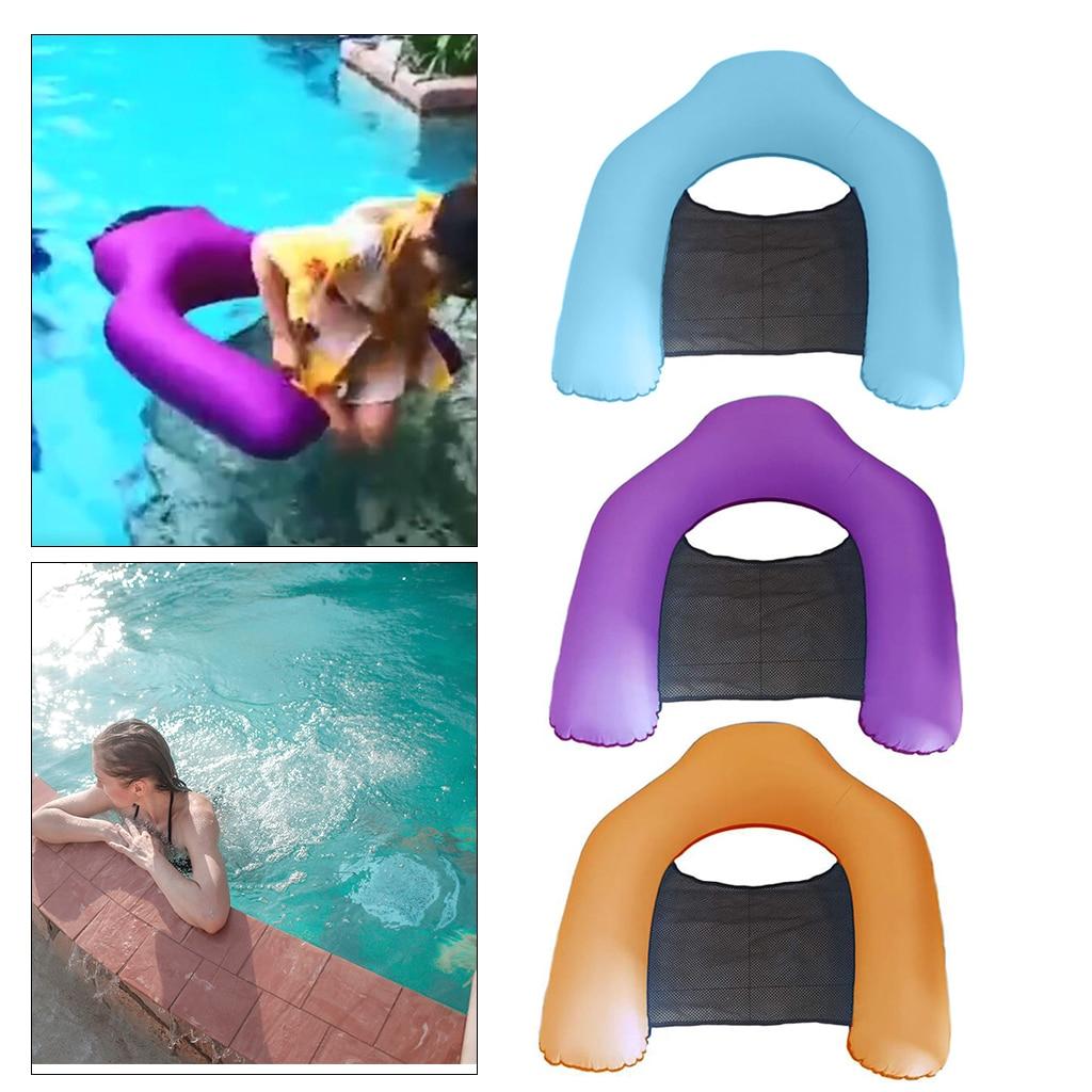 Water Hammock Backrest Float Chair Drifter Lounger Vocation Bed Relaxing Mat