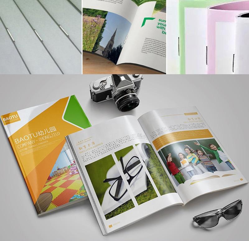 Высококачественный журнал, индивидуальный каталог книг, буклет, печать брошюр