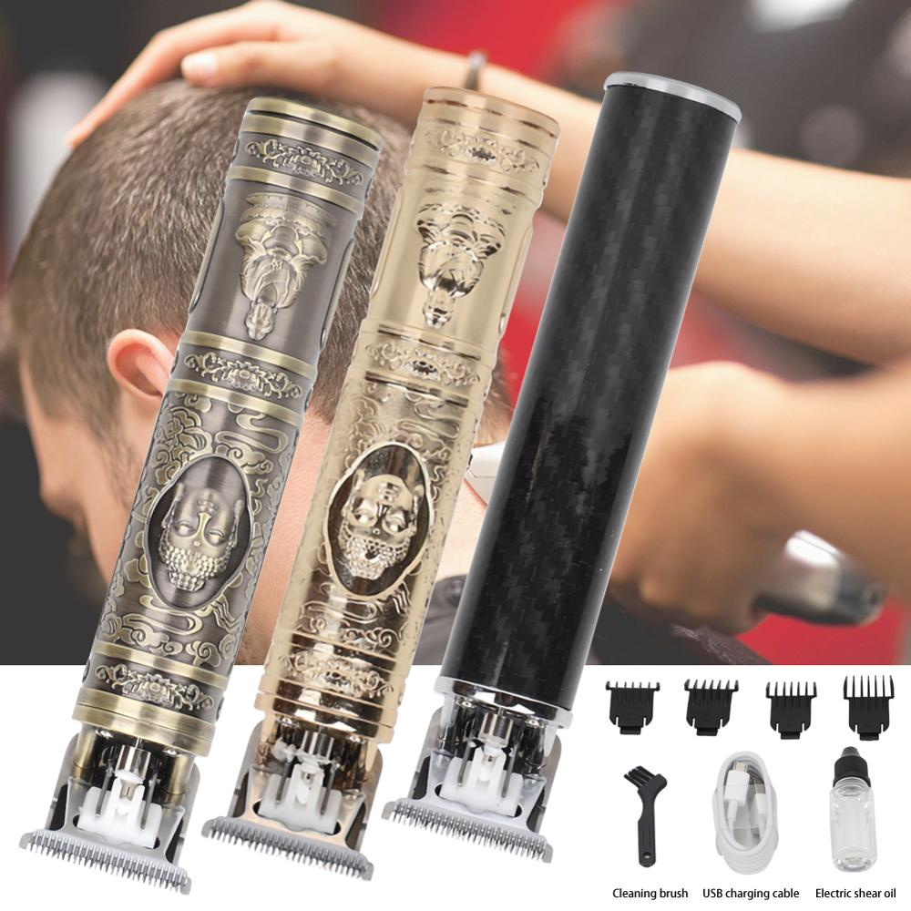 Cortadora eléctrica portátil recargable, Mini cortadora de pelo, cortadora de pelo profesional, cortadora de pelo, corte de pelo, cuchillo de tallado