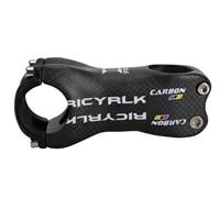 full carbon fiber riser stem mtb road bike 31 8mm angle 617