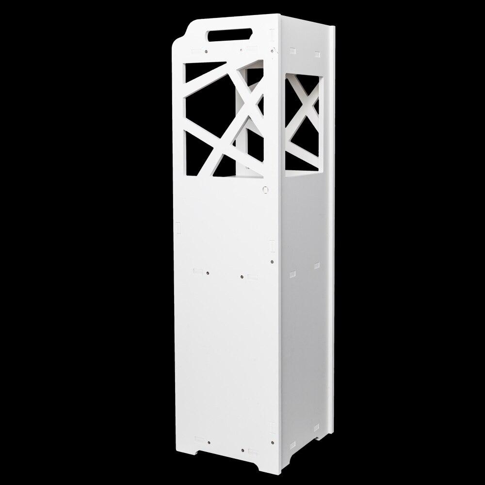 [Товары для США] 3-уровневая фотография с 2 дверями 23*23*80 см белая Прямая поставка США