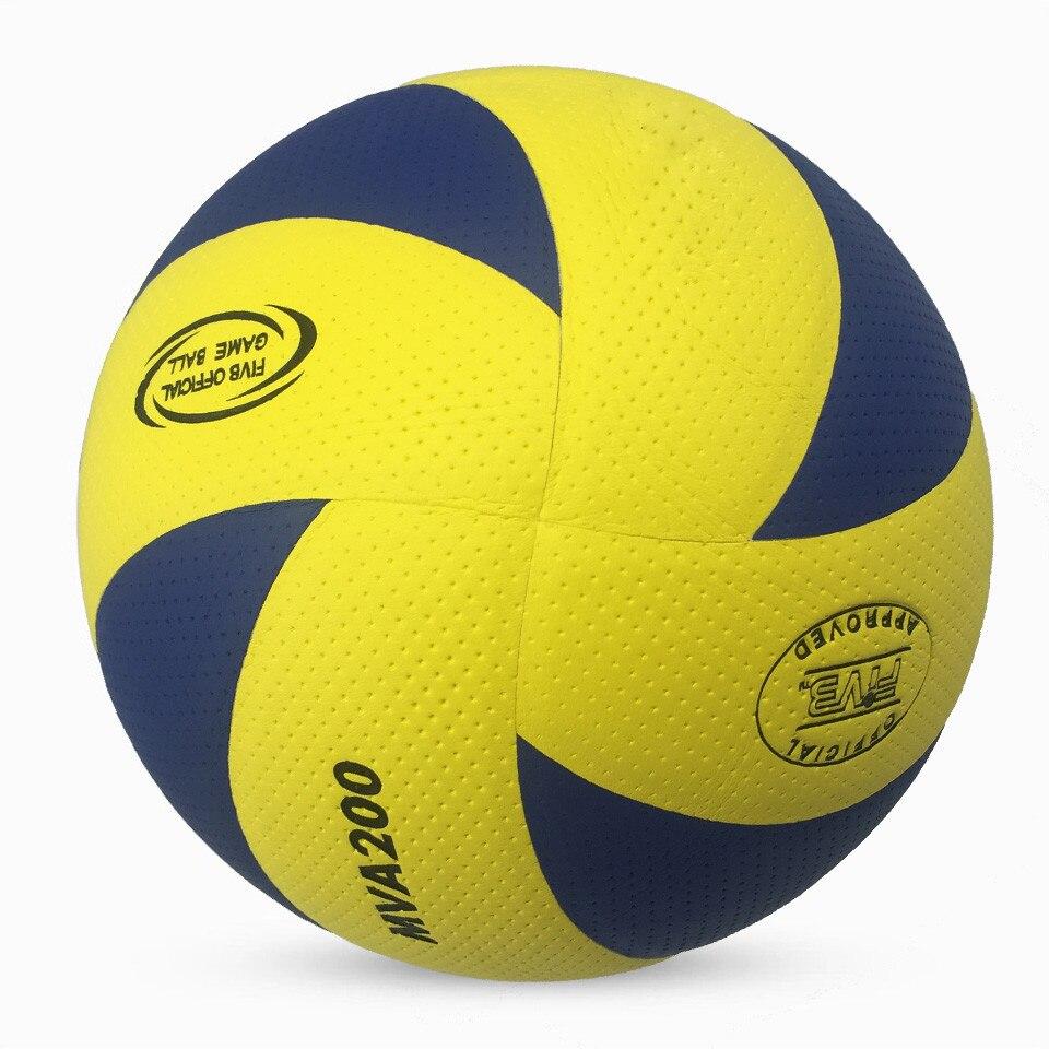 Полиуретановый Волейбольный мяч на ощупь мягкий 5 Волейбольный мяч, высококачественный Волейбольный мяч для тренировок, новый фирменный оф...