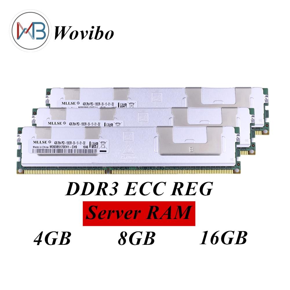 Computer Server RAM Mit kühlkörper DDR3 ECC REG 4G 8GB 16GB 1333 1600 MHz Für Intel xeon cpu X58 X79 X99 Motherboard 240 pin