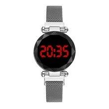 2020 New LED watch unique design digital women watches student sports watches relogio masculino zega