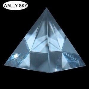 Optical Prism Quadrangular Pyramid 100mm Optical Height Rectangular Pyramid Optical Scientific Experimental Instruments Student
