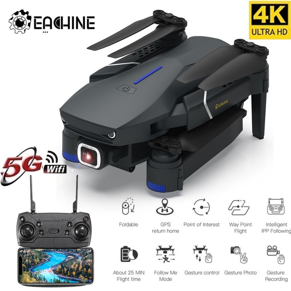 Eachine E520/E520S WI-FI 4K с видом от первого лица/1080P HD Широкий формат Камера высокое режим удержания складной Дрон RC Дрон Квадрокоптер RTF