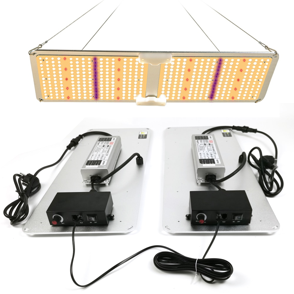 LED Grow light QB2000W Samsung LM301B/LM301H 3000K/5000K UV IR, 2021Newest Smart APP Bluetooth Dimming/Timming Indoor Grow Lamp