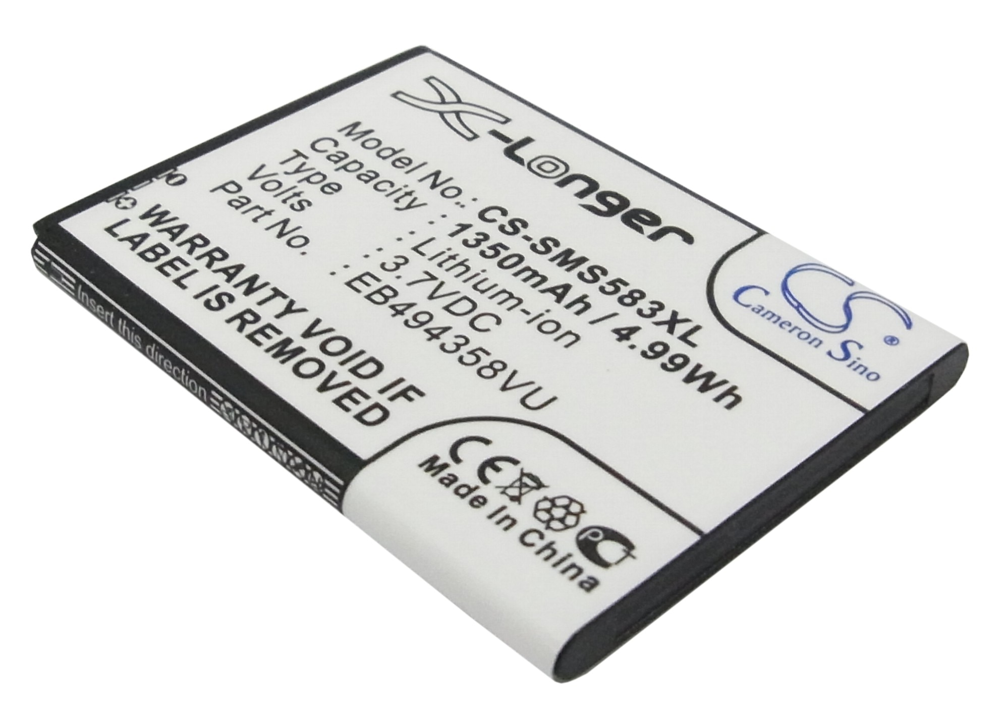 Cameron sino eb494358vu bateria para ace, cooper, galaxy ace, galaxy fit, galaxy gio, g