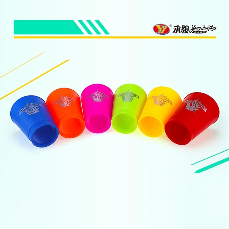 entrega rapida yongjun copo 12 pcs set esporte voando ufo 8 cores copos copos copos