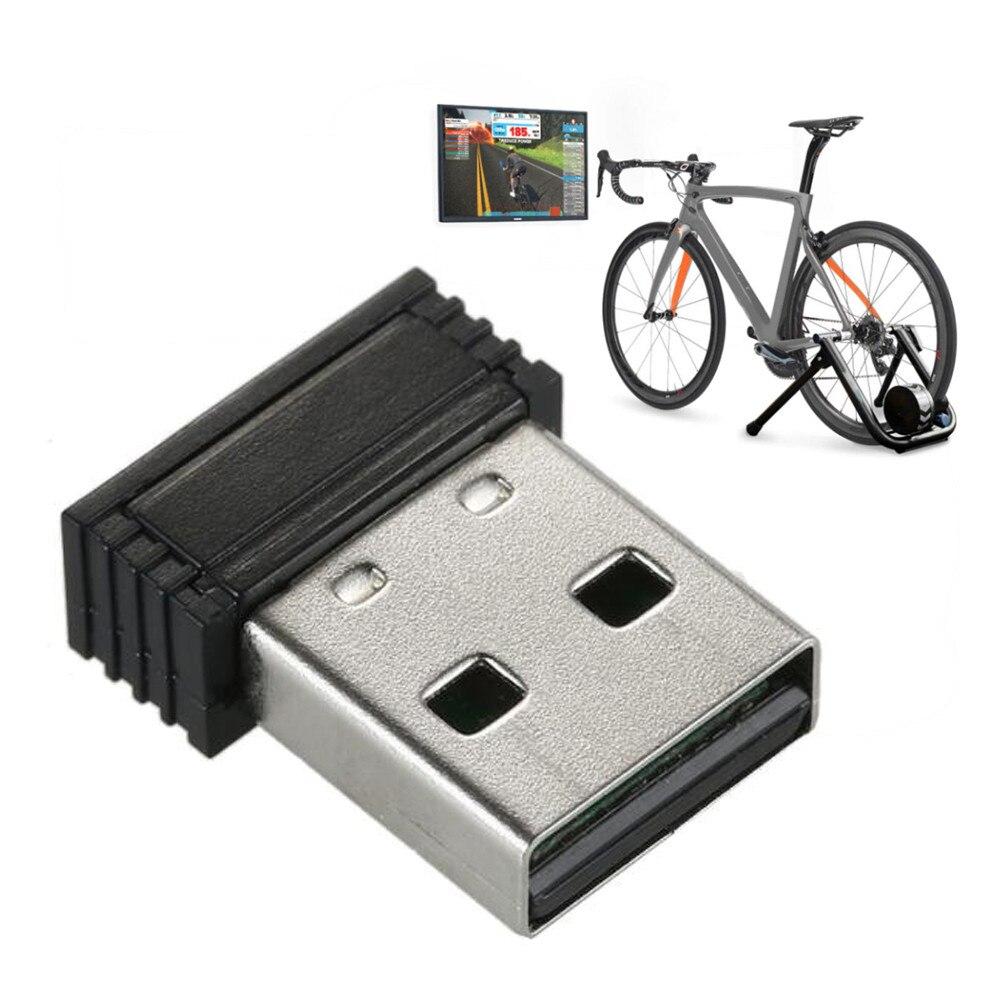Adaptador de Sensor de velocidad bicicleta soporte Ant + Usb para Zwift ciclismo receptor inalámbrico portátil Sensor Adapter30