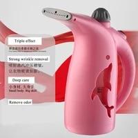 280ml handheld garment steamers water tank iron portable 750w steam iron garment brush steamer iron