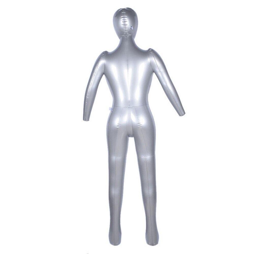 1 Uds. Inflable torso de maniquí ropa interior pantalla PVC femenino cuerpo completo 170cm Reino Unido