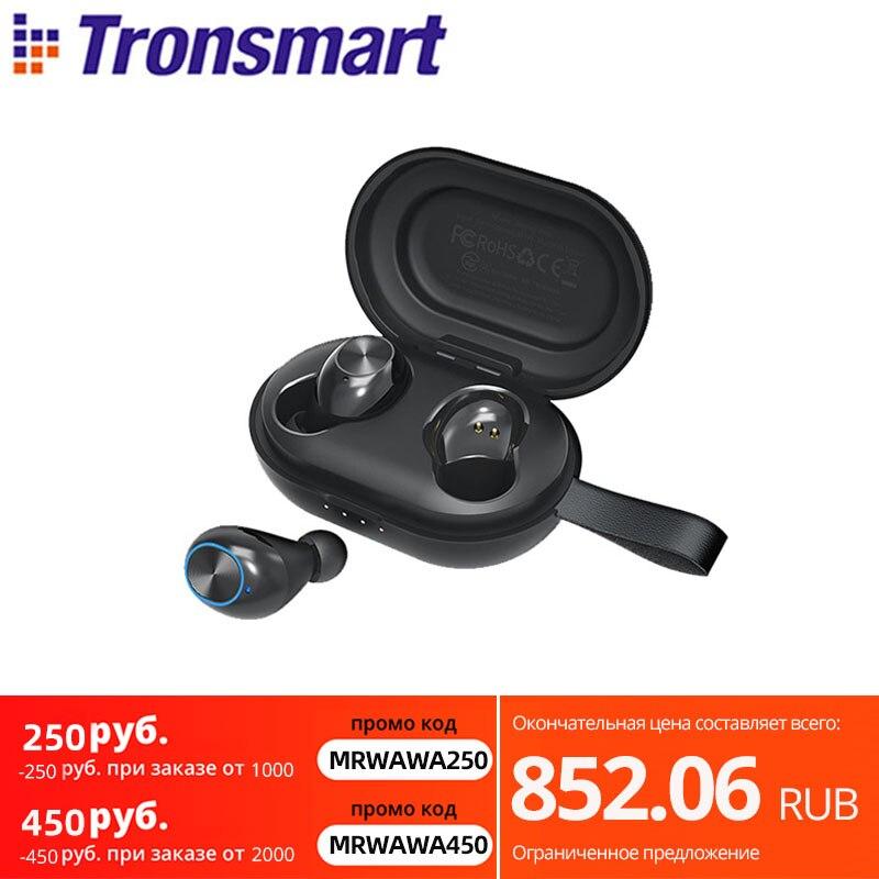 [Entrega rápida] Tronsmart valiente a auriculares Bluetooth APTX TWS inalámbricos auriculares con...