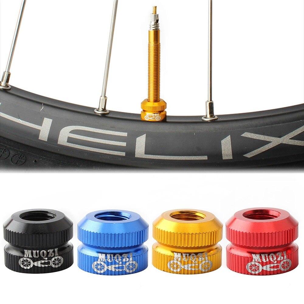 Велосипедный спорт насадка на колесо велосипеда вакуумных шин права рот гайка шины внутренняя бескамерная автомобильная шина колпачки зам...