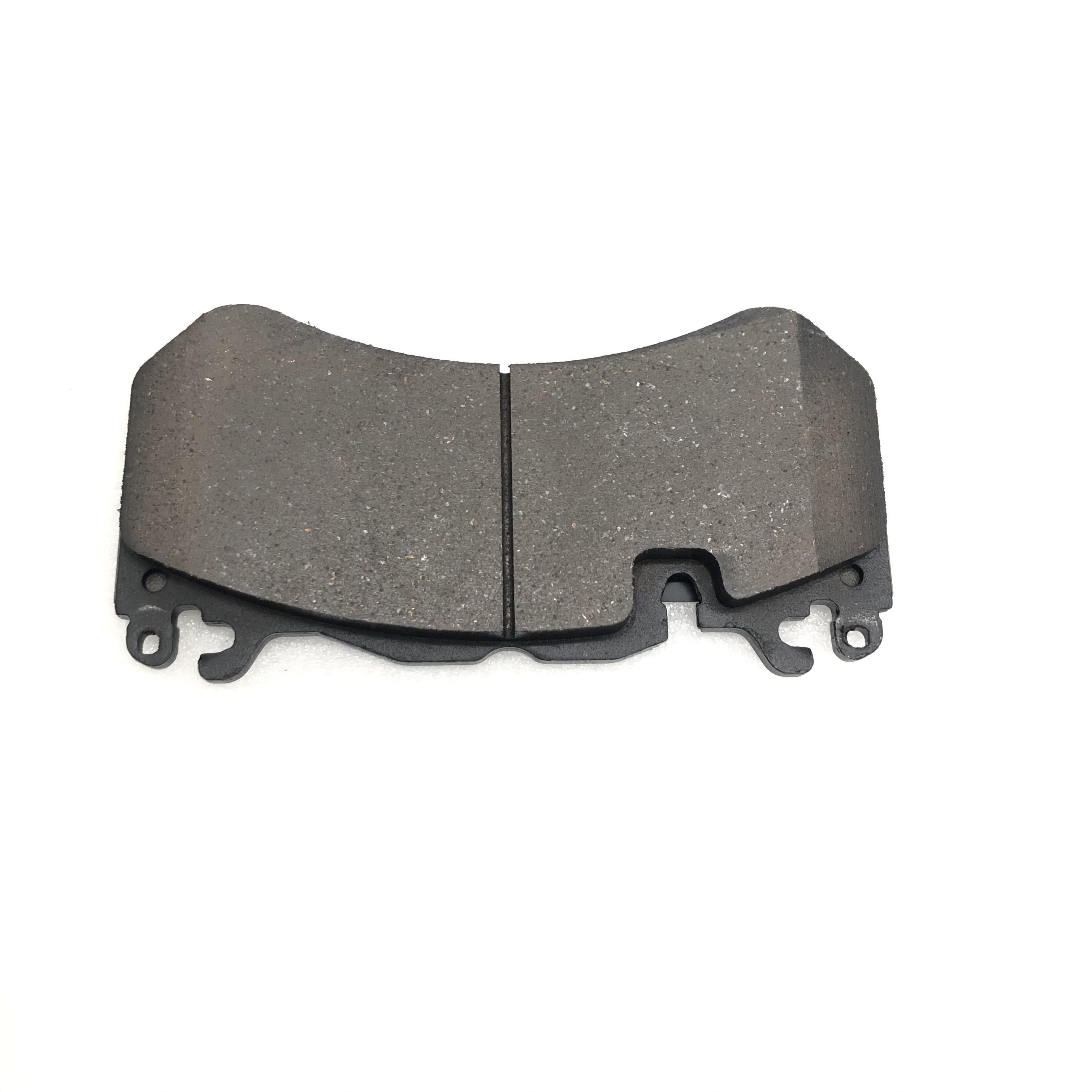 Jekit High performance AMG6 Brake pads for AMG6 Brake Caliper Brake Disc 380*36mm drilled disc area 72mm enlarge