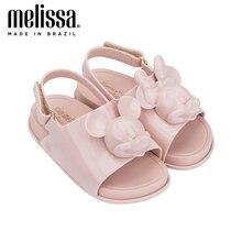 Sandales antidérapantes pour enfants   Mini sandale Melissa, chaussures de gelée, tête cosmique, fille et garçon, sandales 2020