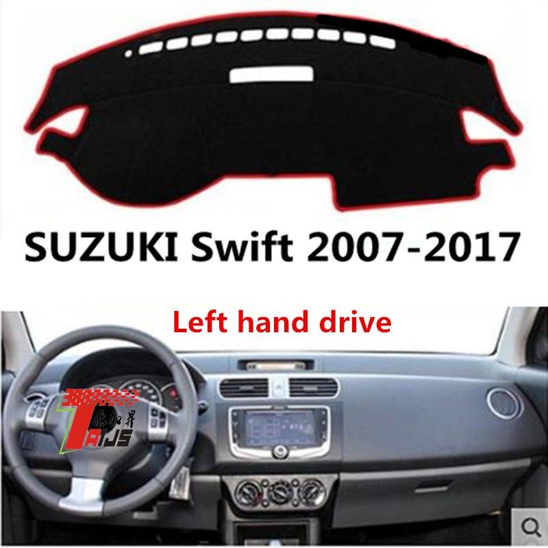 Taijsc couverture de tableau de bord pour Suzuki Swift   2007-2017 différentes tailles anti-poussière, tapis de design adorable et bon